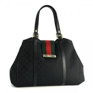 Gucci(グッチ) トートバッグ NEW LADIES WEB 233609 1060 ブラック (H25(C)×W32/41×D12)