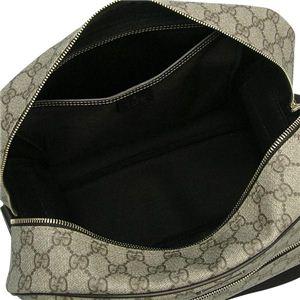 Gucci(グッチ) ショルダーバッグ SHOULDER BAG 211107 8588 ベージュ/ダークブラウン (H26×W37×D12)