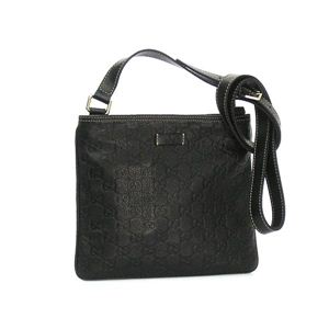 Gucci(グッチ) 斜めがけバッグ MESSENGER BAG 201538 1000 ブラック (H21×W24×D3)