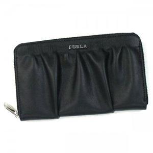 Furla(フルラ) 長財布 PJ70 O60 ブラック (H12×W19.5×D2.5)