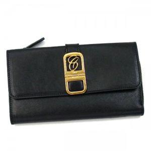 Chloe(クロエ) 長財布 EMMA 3P0700 1 ブラック (H10.5×W19×D2)