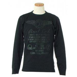 DIESEL(ディーゼル) メンズTシャツ CKD9 900 ブラック (L65 S62 W51 SH42)