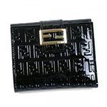 Fendi(フェンディ) Wホック財布 8M0188 F0WN1 ブラック