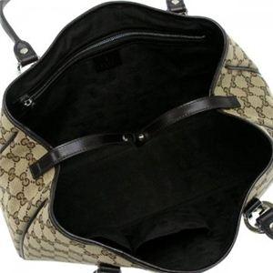Gucci(グッチ) トートバッグ GG TWINS 232957 9643 ベージュ/ダークブラウン