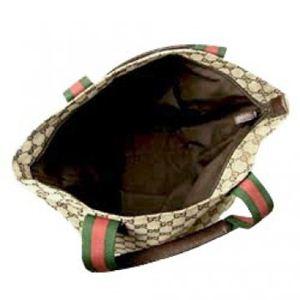 Gucci(グッチ) トートバッグ TOTE 131233 9791 ベージュ/ダークブラウン