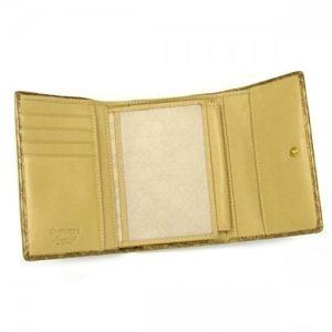 Gherardini(ゲラルディーニ) 三つ折り財布(小銭入れ付) SOFTY BASICO BS09 2555 ゴールド