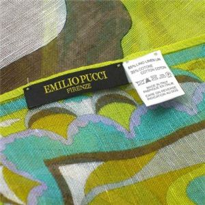 Emilio Pucci(エミリオプッチ) スカーフ 89 4 ライトグリーン
