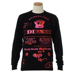 DIESEL(ディーゼル) メンズTシャツ CKDC 900 ブラック