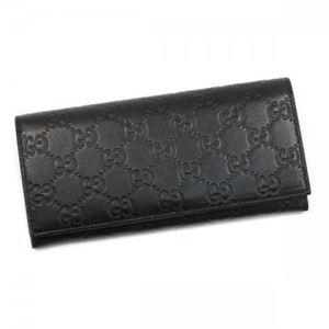 Gucci(グッチ) 長財布 AVEL 233154 1000 ブラック