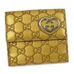 Gucci(グッチ) Wホック財布 LOVELY 245727 8245 PLATINUM
