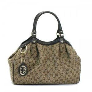 Gucci(グッチ) ショルダーバッグ SUKEY 211944 8421 ブラウン/ダークブラウン