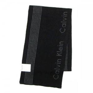 Calvin Klein(カルバンクライン) マフラー 77047 CGH CHARCOAL/BLACK