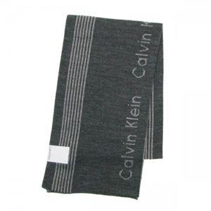 Calvin Klein(カルバンクライン) マフラー 77047 FLA FLANNEL/CHARCOAL