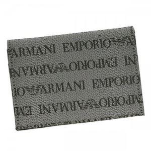 EMPORIO ARMANI(エンポリオアルマーニ) カードケース YEM467 86156 GREY/GREY