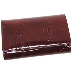 Cartier(カルティエ) 二つ折り財布(小銭入れ付) L3000347 BURDEOS