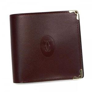 Cartier(カルティエ) 二つ折り財布(小銭入れ付) L3000451 BURDEOS