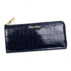 MIUMIU(ミュウミュウ) 長財布 5M1183 F0016 BLUETTE
