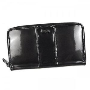 DIESEL(ディーゼル) 長財布 X02417 H5077 METALLIC BLACK