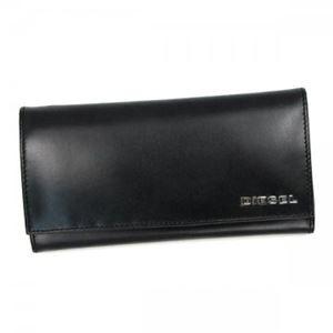 DIESEL(ディーゼル) 長財布 X02468 H1532 BLACK/WHITE