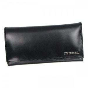 DIESEL(ディーゼル) 長財布 X02468 H5293 BLACK/ACID GREEN
