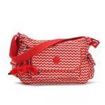 Kipling(キプリング) ショルダーバッグ K15340 A90 CHEVRON RED PR