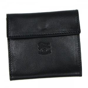 IL BISONTE(イルビソンテ) 二つ折り財布(小銭入れ付) C0455 153N BLACK