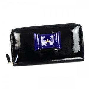 Vivienne Westwood(ヴィヴィアンウエストウッド) 長財布 5140 NERO/BLUETTE