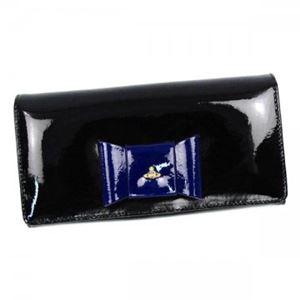 Vivienne Westwood(ヴィヴィアンウエストウッド) 長財布 1032 NERO/BLUETTE