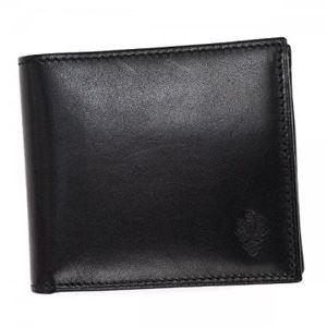 PERONI(ペローニ) 二つ折り財布(小銭入れ付) 80011 BLACK