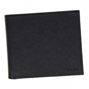 Prada(プラダ) 二つ折り財布(小銭入れ付) 2MO738 F0002 NERO