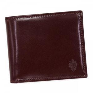 PERONI(ペローニ) 二つ折り財布(小銭入れ付) 80011 BORDEAUX