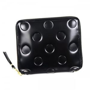 COMME des GARCONS(コムデギャルソン) 二つ折り財布(小銭入れ付) SA2100NE BLACK