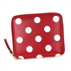 COMME des GARCONS(コムデギャルソン) 二つ折り財布(小銭入れ付) SA2100PD RED