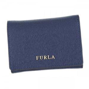 Furla(フルラ) 三つ折り財布(小銭入れ付)  PR83 DRS NAVY