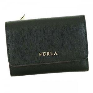 Furla(フルラ) 三つ折り財布(小銭入れ付)  PR76 O60 ONYX