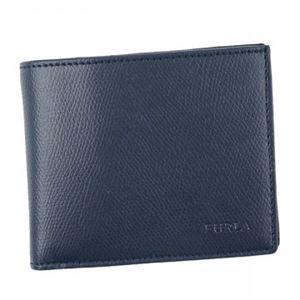 Furla(フルラ) 二つ折り財布(小銭入れ付)  PQ37 DRS NAVY
