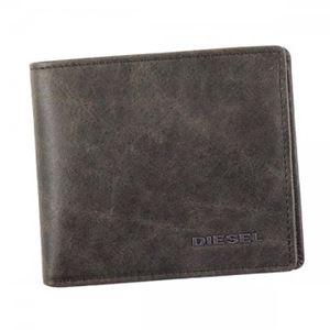 DIESEL(ディーゼル) 二つ折り財布(小銭入れ付)  X03363 H6184 QUARZ/SILVER SAGE