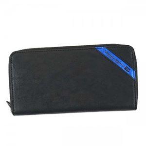 DIESEL(ディーゼル) 長財布  X03609 H6169 BLACK/COBALTO