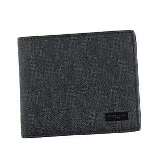 Michael Kors(マイケルコース) 二つ折り財布(小銭入れ付) 39F5LMNF3B 1 BLACK