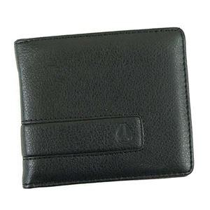 NIXON(ニクソン) 二つ折り財布(小銭入れ付) C943 1 ALL BLACK