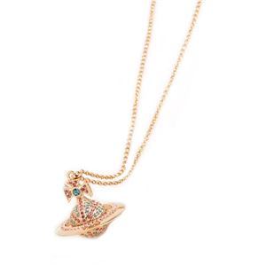 Vivienne Westwood(ヴィヴィアンウエストウッド) ペンダント/ネックレス 752215B/2 AQUAMARINE/LIGHT ROSE/GOLD