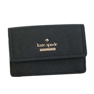 KATE SPADE(ケイトスペード) 3つ折小銭付き財布 PWRU6439 1 BLACK