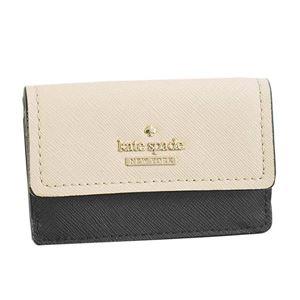 KATE SPADE(ケイトスペード) 3つ折小銭付き財布 PWRU6439 913 TUSK/BLACK
