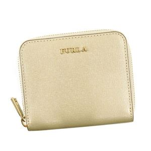 Furla(フルラ) 二つ折り財布(小銭入れ付) PR84 KGK COLOR GOLD KAKI c