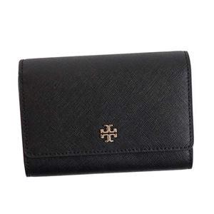 TORY BURCH(トリーバーチ) 三つ折り財布(小銭入れ付) 11169107 1 BLACK