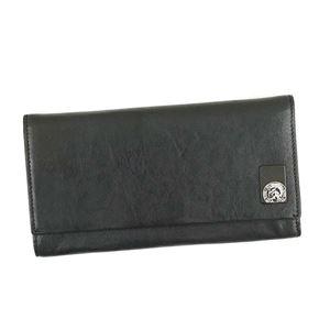 DIESEL(ディーゼル) フラップ長財布 X04478 T8013 BLACK