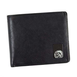 DIESEL(ディーゼル) 二つ折り財布(小銭入れ付) X04480 T8013 BLACK