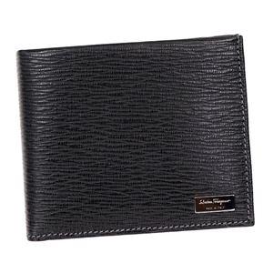 Ferragamo(フェラガモ) 二つ折り財布(小銭入れ付) 667070 351306 NERO