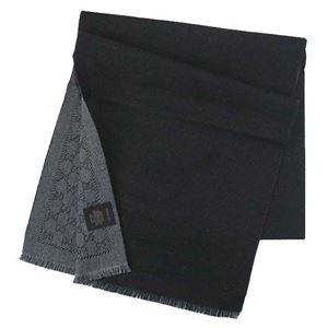 Gucci(グッチ) マフラー 402093 1160 ANTHRACITE/BLACK