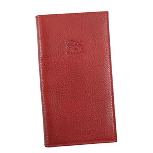 IL BISONTE(イルビゾンテ) フラップ長財布  C0974 245 RUBY RED